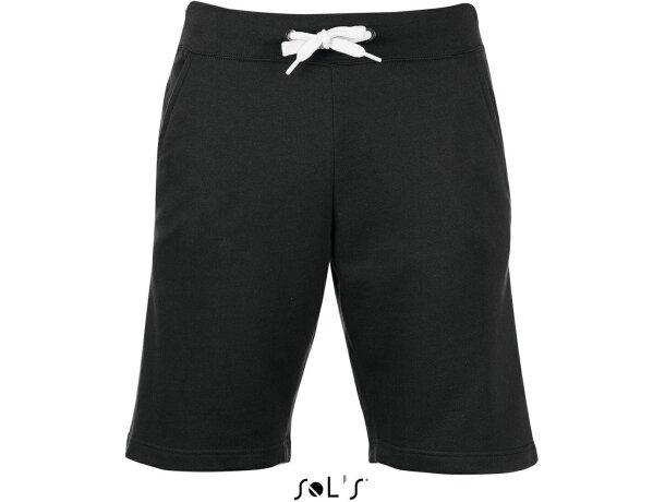 Pantalón corto de deporte de hombre June de Sols Sols negro
