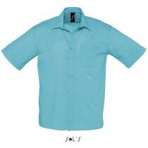 Camisa de hombre de trabajo manga corta en colores sols