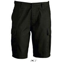 Pantalón corto deportivo jungle de Sols 135 gr Sols negro