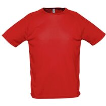 Camiseta unisex mangas raglan sporty de 135 gr