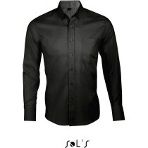 Camisa Business Men Sols personalizada negra
