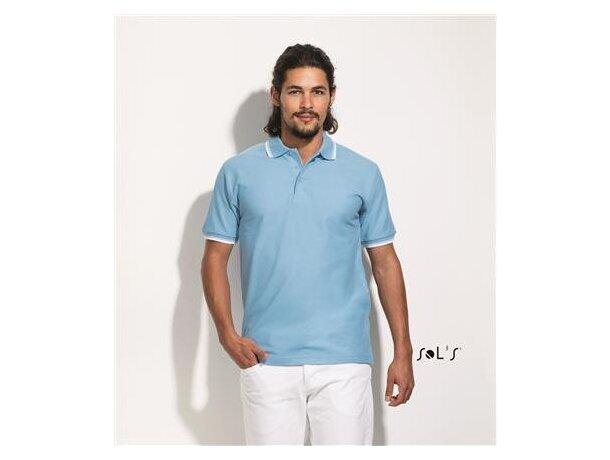 Polo golf manga corta Practice de Sols 300 gr Sols con logo