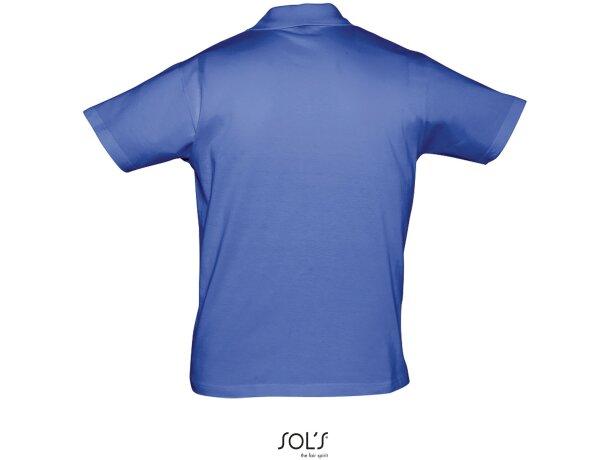 Polo unisex de manga corta prescott de sols 170 gr economico