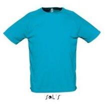 Camiseta unisex mangas raglan Sporty de Sols 135 gr Sols personalizada