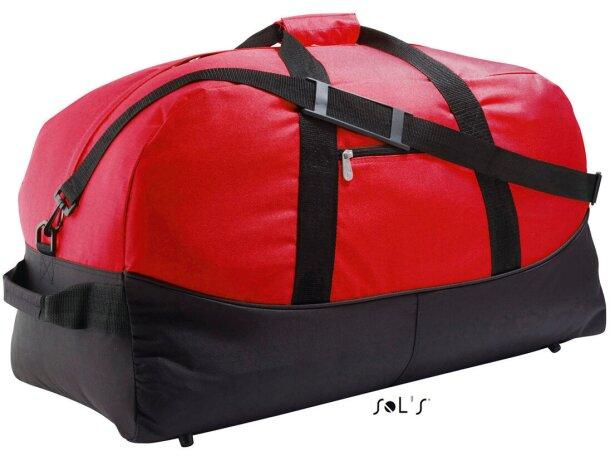 Bolsa bicolor de viaje y de deporte Sols personalizada