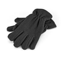 Guantes polares de invierno negro personalizado