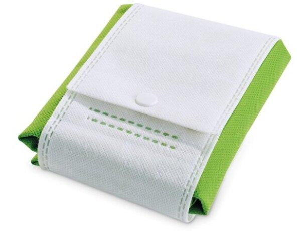 Bolsa de no tejido plegable verde claro