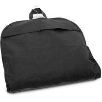 Portatrajes personalizada de non woven personalizado negro