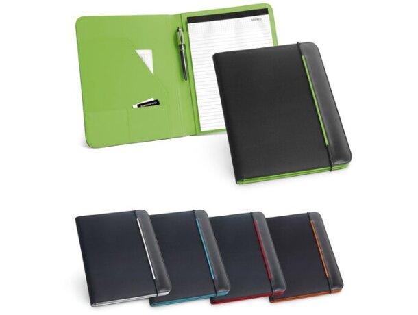 Portafolios a4 con banda de colores personalizado