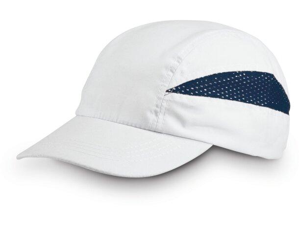 Gorra para hacer deporte combinada