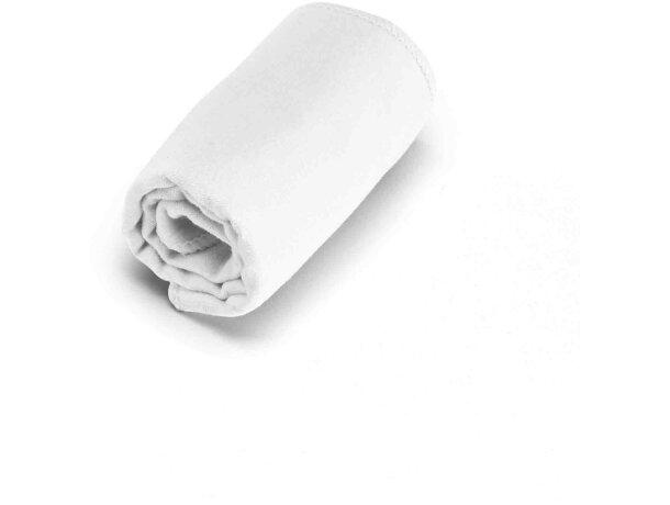Toalla de microfibra en funda 40x80 cm personalizada blanca