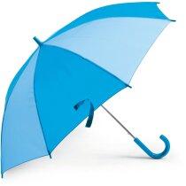 Paraguas combinado para niños personalizado azul