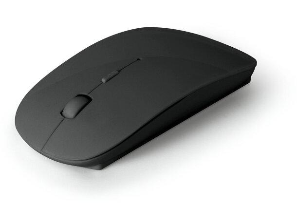 Ratón Inalámbrico moderno personalizado negro