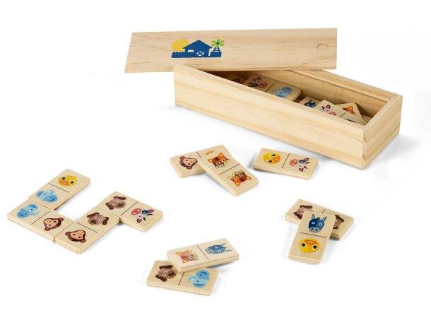 Juego de dominó clásico personalizado