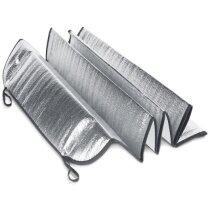 Parasol de coche forrado con hoja de aluminio