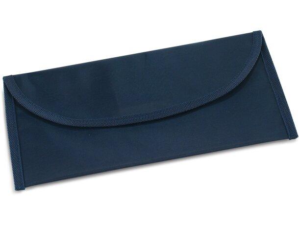 Portadocumentos para viajes personalizado azul