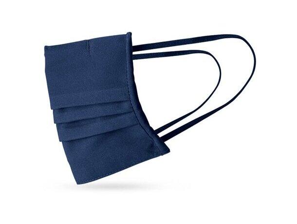Grance. mascarilla textil reutilizable azul