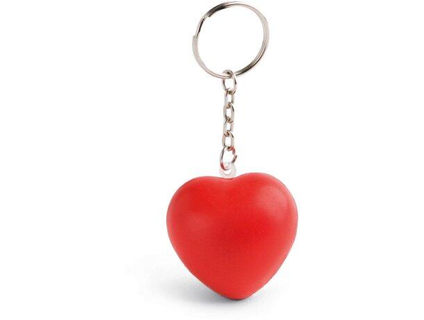 Llavero antiestrés corazón personalizado