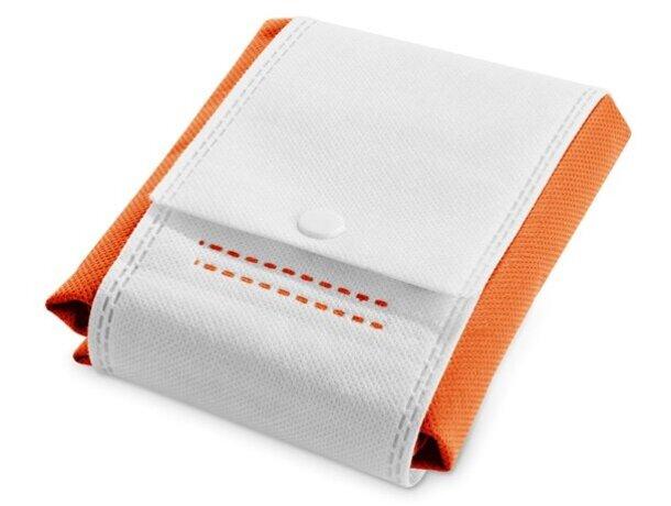 Bolsa de no tejido plegable naranja