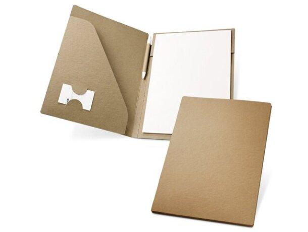 Carpeta de cartón con bolsillo interior personalizada