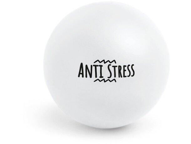 Antiestrés pelota surtido de colores blanco