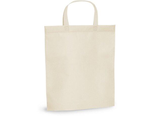 Bolsa non woven 105 gr / m2 personalizada beige