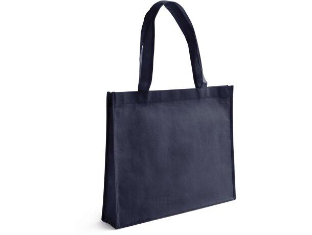 Bolsa amplia para la compra azul
