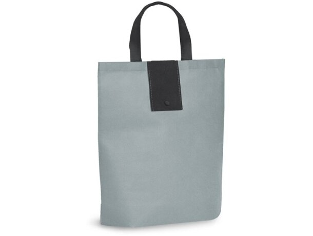 Bolsa compra plegable barata gris claro