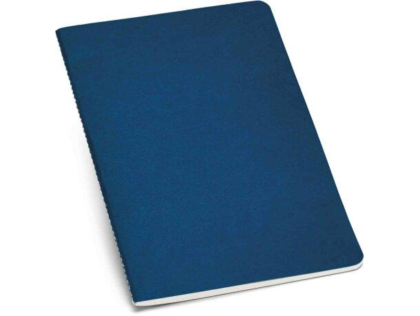 Cuaderno con tapas de colores en A5 personalizado azul