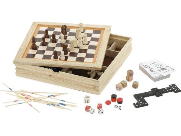Set juegos de mesa 7 en 1 personalizado