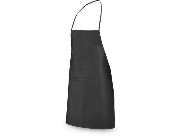 delantal de regalo en non woben de colores negro personalizado