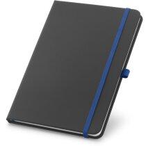 Bloc de notas de 80 hojas azul royal personalizado