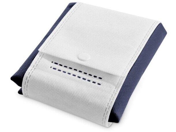 Bolsa de no tejido plegable azul original