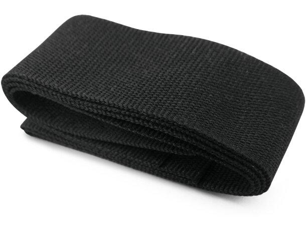 Adorno cinta para sombrero personalizado negro