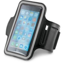 Brazalete smartphone pequeño reflectante personalizado negro