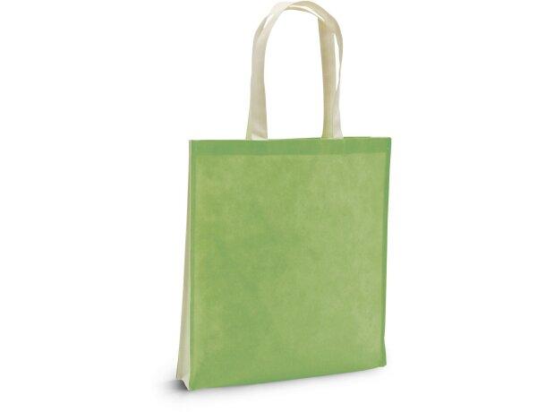 Bolsa non woven ecológica personalizada verde claro
