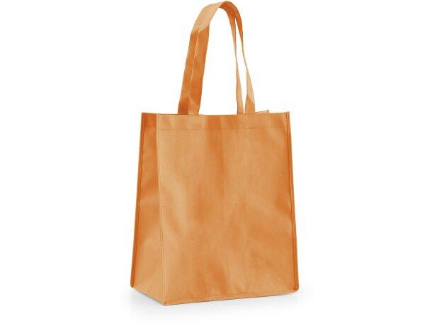 Bolsa de non woven 105 gr / m2 naranja
