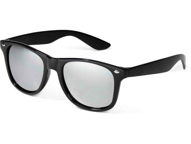 Gafas de sol con lentes de colores negra personalizado