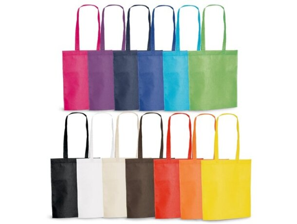 Bolsa de feria de varios colores