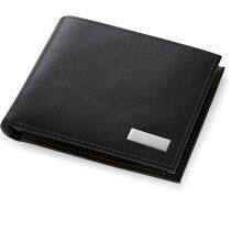 Cartera de hombre con billetera negra