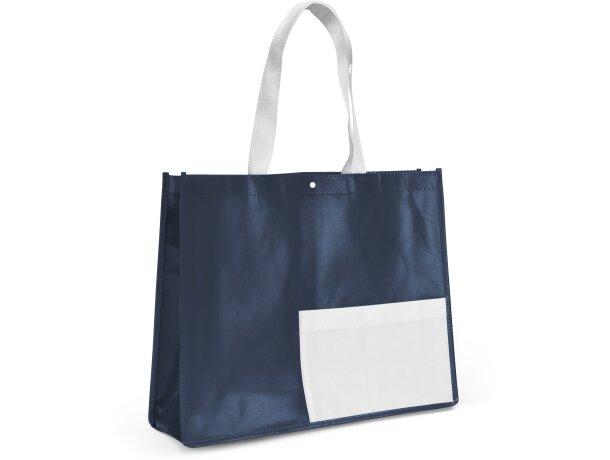 Bolsa non woven laminado azul