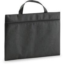 Maletín portadocumentos non woven de colores personalizado negro