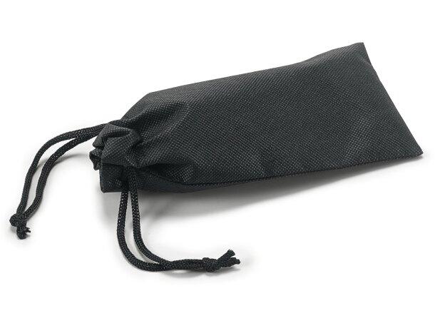 Funda para gafas de non woven negra personalizada