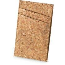 Porta tarjetas ecológico en corcho natural