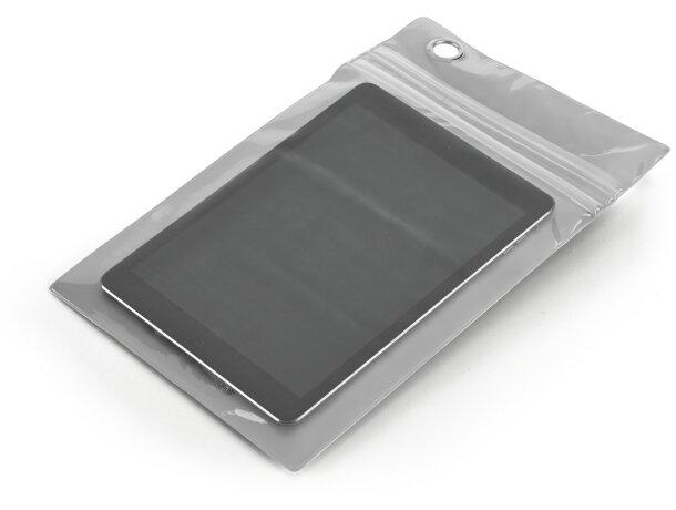Bolsa impermeable para tablet personalizada cromado satinado