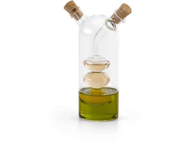 Vinagrera de diseñó personalizada transparente