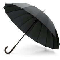 Paraguas con 16 varillas barato negro
