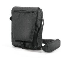 Bandolera para tablet poliéster 800d personalizada negra