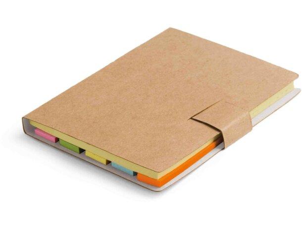 Set de notas adhesivas recicladas personalizada