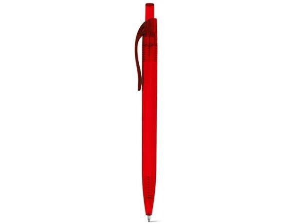 Libreta con bolígrafo tamaño a5 rojo
